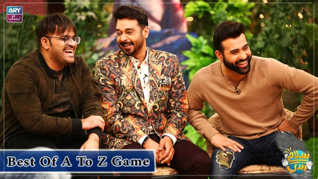 Aadi And Faizan Act Like 12,12 Years Old Children | A To Z Game Segment
