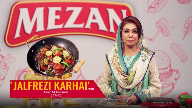 How To Make 'Jalfrezi Karhai' with Chef Farah in Zauq Recipes.