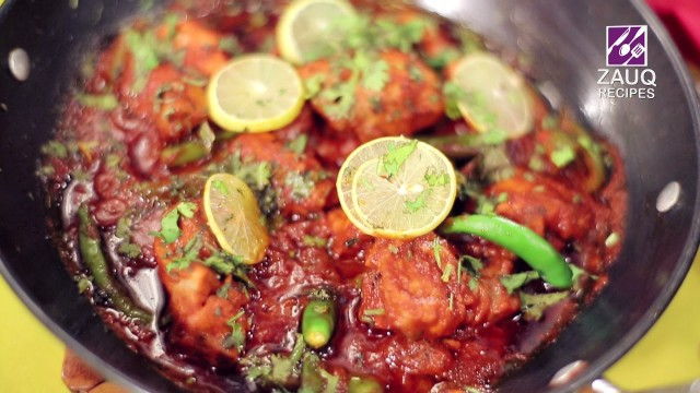 Don't forget to watch the making of 'Jalfrezi Karhai' with Chef Farah in Zauq Recipes