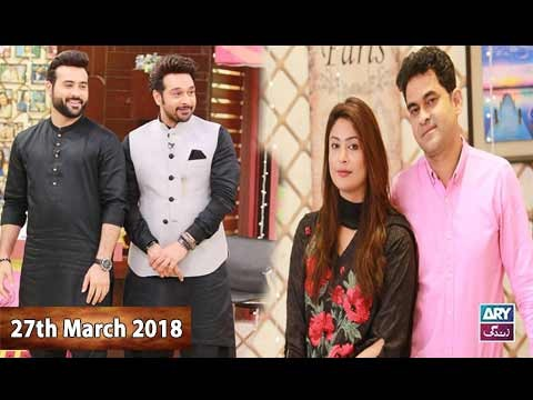 Salam Zindagi With Faysal Qureshi – 27th March 2018