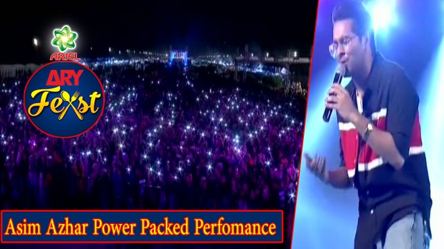 The One And Only Asim Azhar Power Packed Perfomance | Live Perfomance At ARY Feast #AsimAzhar.