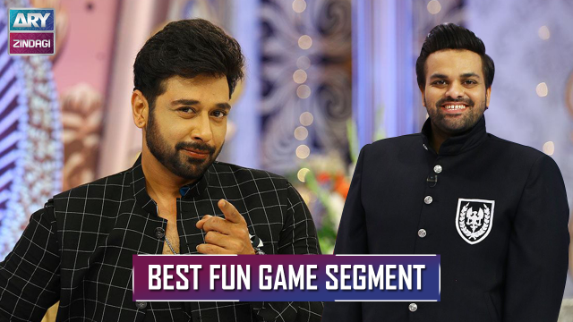 Change The Topic | Best Fun Game Segment Ever | Faisal Qureshi & Aadi Adeal