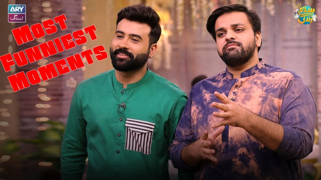 Aadi And Faizan Most Funniest Moments With Guests